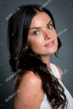 """Former winner on """"The Bachelor"""" Courtney Robertson poses for a portrait in promotion of her new tell-all book """"I Didn't Come Here to Make Friends"""" on Tues., in New York"""
