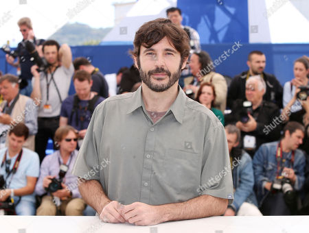 Director Diego Quemada-Diez poses for photographers during a photo call for the film The Golden Cage at the 66th international film festival, in Cannes, southern France