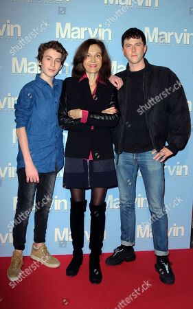Editorial image of 'Marvin' film premiere, Paris, France - 20 Nov 2017