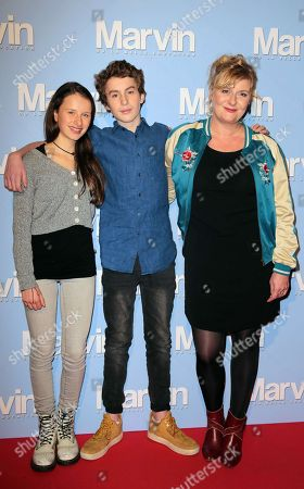 Stock Image of Luna Lou, Jules Porier and Catherine Salee