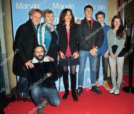 Stock Photo of Charles Berling, Vincent Macaigne, Catherine Salee, Anne Fontaine, Finnegan Oldfield, Jules Porier and Luna Lou