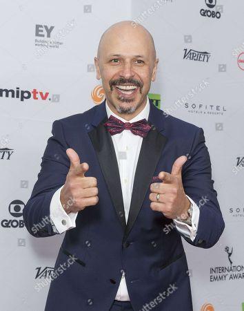 Editorial photo of 45th International Emmy Awards, Arrivals, New York, USA - 20 Nov 2017