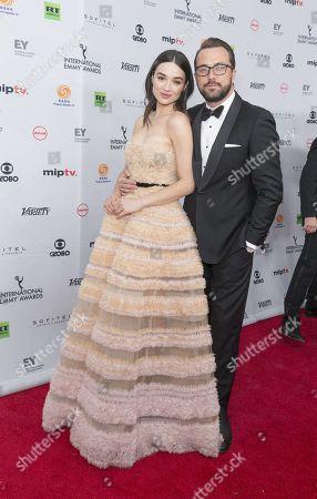 Editorial image of 45th International Emmy Awards, Arrivals, New York, USA - 20 Nov 2017