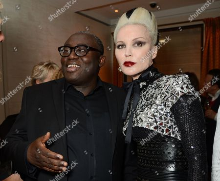 Edward Enninful and Daphne Guinness
