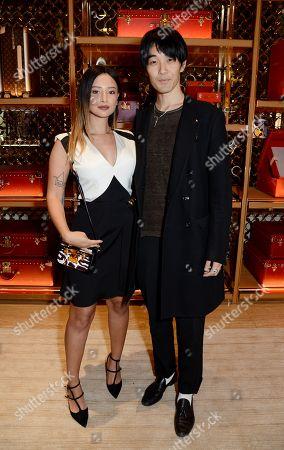 Leah Weller and Tomo Kurata