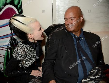 Daphne Guinness and Michael Roberts