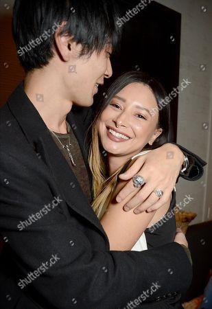 Stock Image of Leah Weller and Tomo Kurata