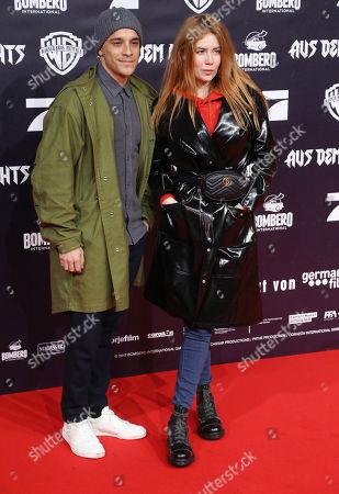 Kostja Ullmann and Palina Rojinski