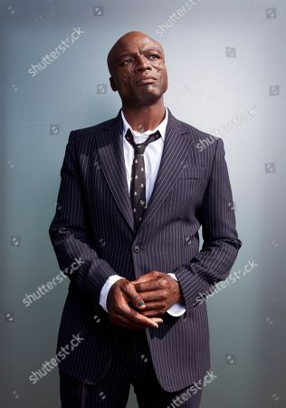 "Stock Picture of Grammy Award-winning singer Seal poses for a portrait to promote his new album ""Standards"" at the London Hotel in West Hollywood, Calif. His tenth studio album was recorded with a band that included musicians who performed alongside Frank Sinatra and Ella Fitzgerald"