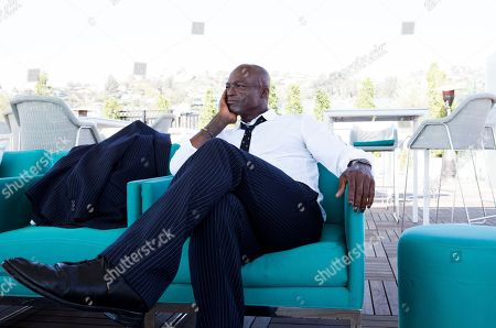 "Grammy Award-winning singer Seal poses for a portrait to promote his new album ""Standards"" at the London Hotel in West Hollywood, Calif. His tenth studio album was recorded with a band that included musicians who performed alongside Frank Sinatra and Ella Fitzgerald"