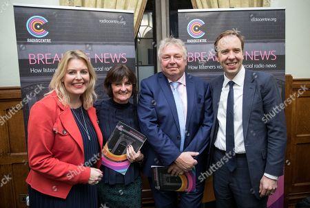Mims Davies MP, Siobhan Kenny, Nick Ferrari and Matthew Hancock MP
