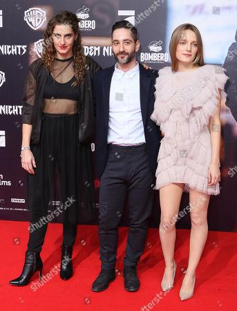 Samia Chancrin, Denis Moschitto and Hanna Hilsdorf