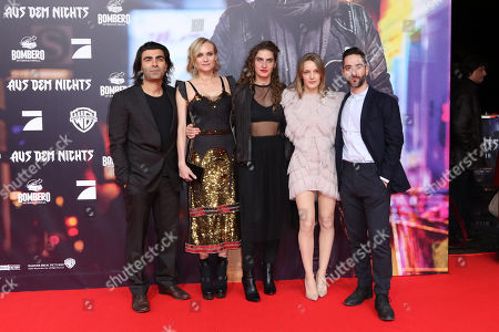 Stock Photo of Fatih Akin, Diane Kruger, Samia Chancrin, Denis Moschitto and Hanna Hilsdorf