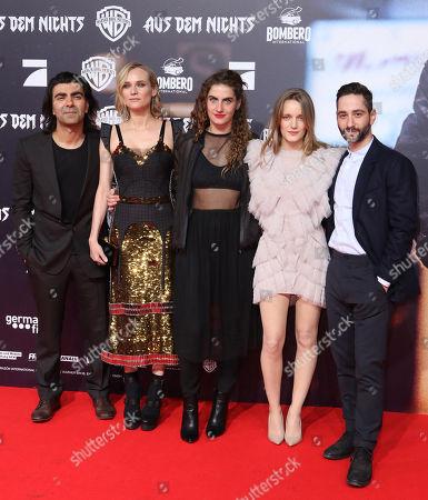 Editorial photo of 'In the Fade' film premiere, Hamburg, Germany - 21 Nov 2017