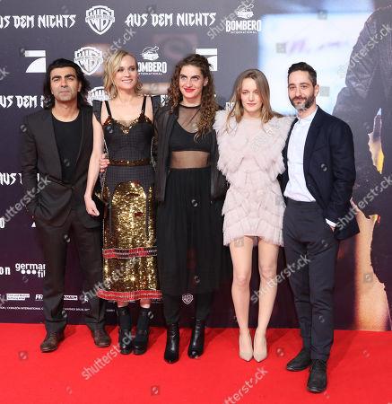 Fatih Akin, Diane Kruger, Samia Chancrin, Denis Moschitto and Hanna Hilsdorf