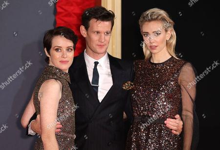 Claire Foy, Matt Smith and Vanessa Kirby
