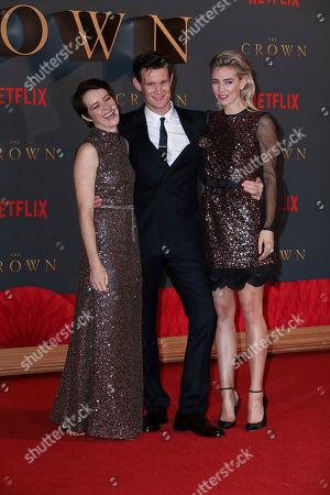 Editorial photo of Britain The Crown Season 2 Premiere, London, United Kingdom - 21 Nov 2017
