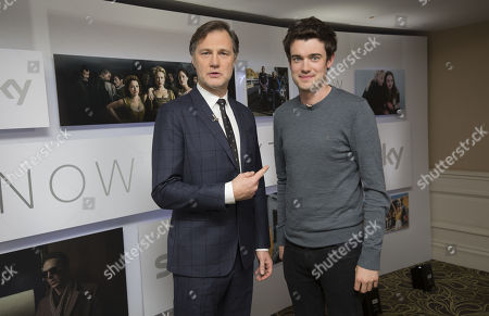 David Morrissey and Jack Whitehall
