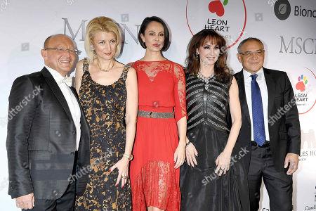 Prof. Dr. Popp, Natalia Klitschko, Anna Maria Kaufmann, Felix Magath