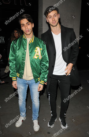Editorial image of LOTD and Louise Thompson launch party, London, UK - 21 Nov 2017
