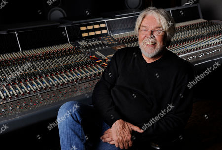 Singer Bob Seger poses for a portrait in a Capitol Records studio, in Los Angeles