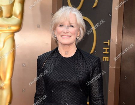 Actress Glenn Close at the Oscars in Los Angeles. Close will star with John Lithgow in a Broadway revival of Edward Albee's A Delicate Balance this fall. It will be directed by Pam MacKinnon, with previews beginning Oct. 20