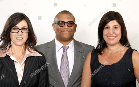 """Stock Image of S shows Oscar nominated producers Stacey Sher, left, Reginald Hudlin, center, and Pilar Savone at the 2013 Oscar Nominee Luncheon in Los Angeles. The three are nominated for the film, """"Django Unchained"""