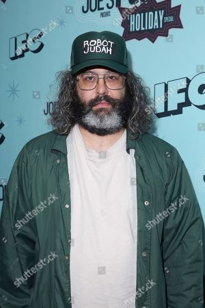 """Judah Friedlander attends IFC's """"Joe's Pub Presents: A Holiday Special"""" at Joe's Pub in The Public Theater, in New York"""