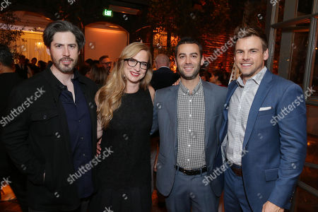 Editorial image of Hulu Holiday Press Party at Spago, Beverly Hills, Los Angeles, USA - 21 Nov 2017