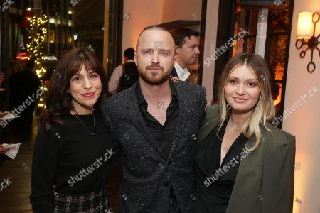 Jessica Goldberg, Executive Producer, Aaron Paul and Lauren Parsekian