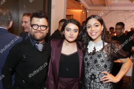 Kevin Weisman, Ariela Barer and Allegra Acosta