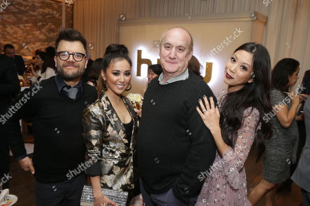 Editorial picture of Hulu Holiday Press Party at Spago, Beverly Hills, Los Angeles, USA - 21 Nov 2017