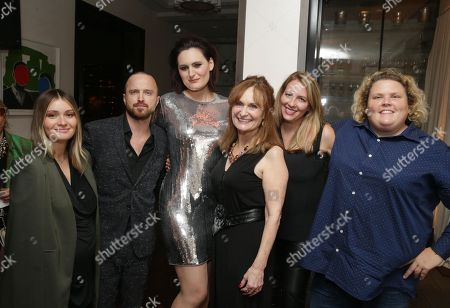 Lauren Parsekian, Aaron Paul, Mary Chieffo, Beth Grant, Jacquelyn Smith and Fortune Feimster