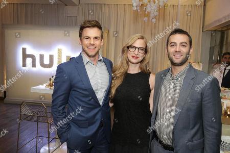 Tommy Dewey, Helen Estabrook, Executive Producer, and Zander Lehmann, Executive Producer,