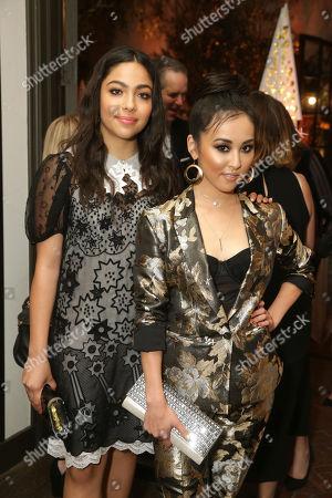 Allegra Acosta and Lyrica Okano