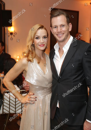 Stock Photo of Annie Wersching and Kip Pardue