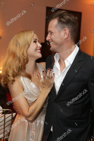 Stock Image of Annie Wersching and Kip Pardue