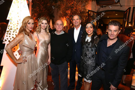 Annie Wersching, Virginia Gardner, Jeph Loeb, Executive Producer, Randy Freer, CEO of Hulu, Allegra Acosta and James Marsters