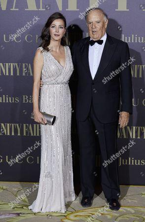 Stock Photo of Carlos Andrew Falkous, Esther Dona