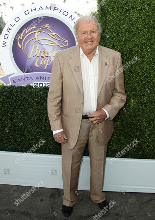 IMAGE DISTRIBUTED FOR BREEDER'S CUP - Dick Van Patten attends Day 1 of Breeders' Cup World Championships held at Santa Anita Park, in Arcadia, Calif