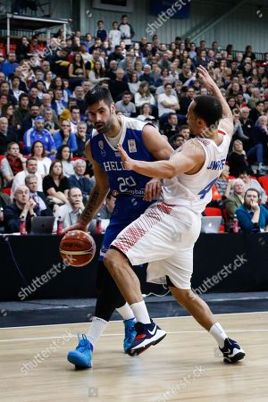 Editorial image of Great Britain v Greece, Fiba 2019 World Cup Qualifier, Leicester Arena, Leicester, UK - 24 Nov 2017