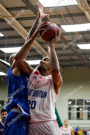 Great Britain Forward, Kieron Achara (20)