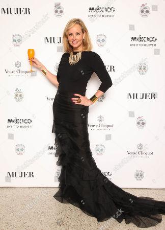 Philanthropist Yaz Hernandez arrives during the Veuve Clicquot Presents El Museo del Barrio�s 'Día de Los Muertos' Benefit on at El Museo in New York
