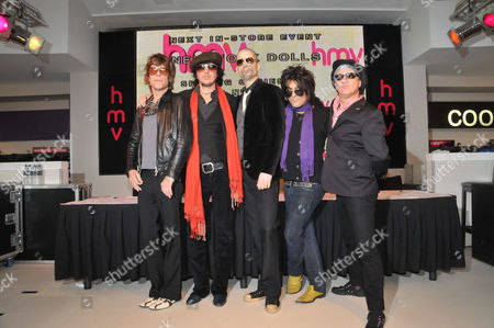 New York Dolls - David Johansen, Sami Yaffa, Brian Delaney, Steve Conte and Sylvain Sylvain