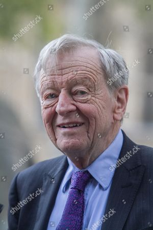 Stock Image of Alf Dubs, Baron Dubs in Westminster