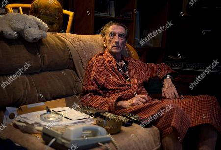 Harry Dean Stanton poses for a portrait on in Los Angeles
