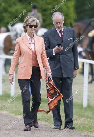 Stock Image of Lady and Lord Brabourne