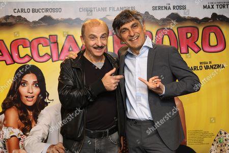 Editorial photo of 'Caccia al Tesoro' film photocall, Naples, Italy - 22 Nov 2017