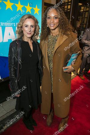 Nicola Stephenson and Angela Griffin