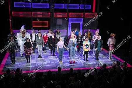 Editorial photo of 'Everybody's Talking About Jamie' musical, Press Night, London, UK - 22 Nov 2017